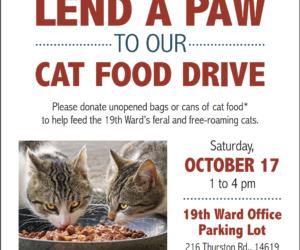 19th Ward Community Cats Food Drive